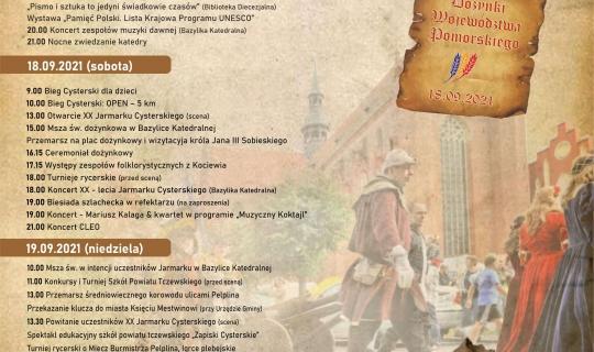 Program XX Jarmarku Cysterskiego